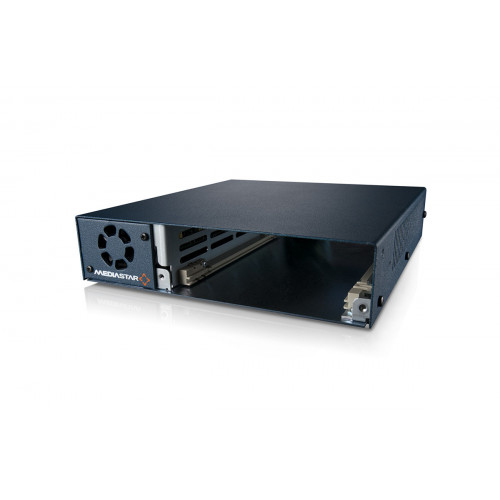 MediaStar Single Slot Appliance Chassis with integral Power Supply Unit