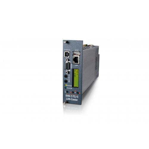 MediaStar LAN-Caster Blade, Single DVB-T2 or DVB-C Multiplex, Common Interface