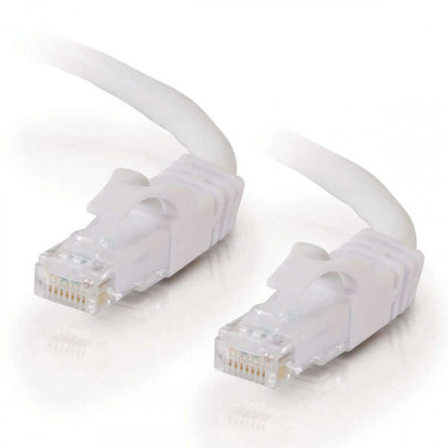 10M WHITE CAT6 PVC SNAGLESS UTP PATCH CB