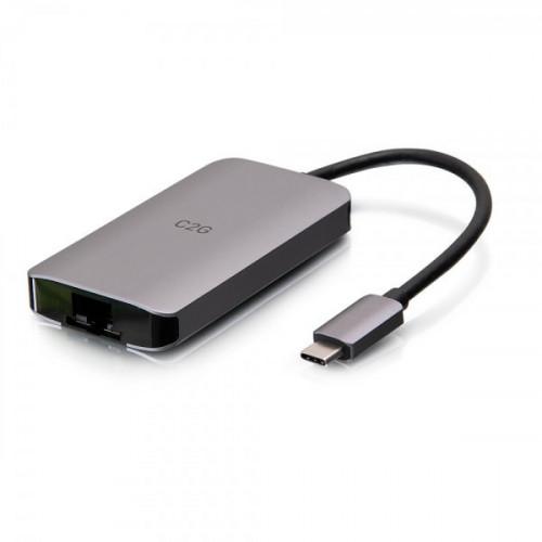 USB-C Mini Dock,HDMI 4K30,USB,Eth,PD