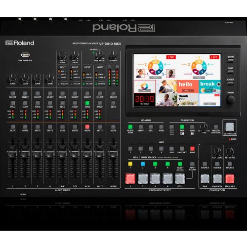 The VR-50HD MKII Multi-Format AV Mixer